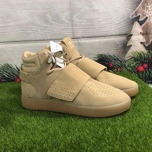 Adidas Hi-Top Velcro Sneakers Size 5Y